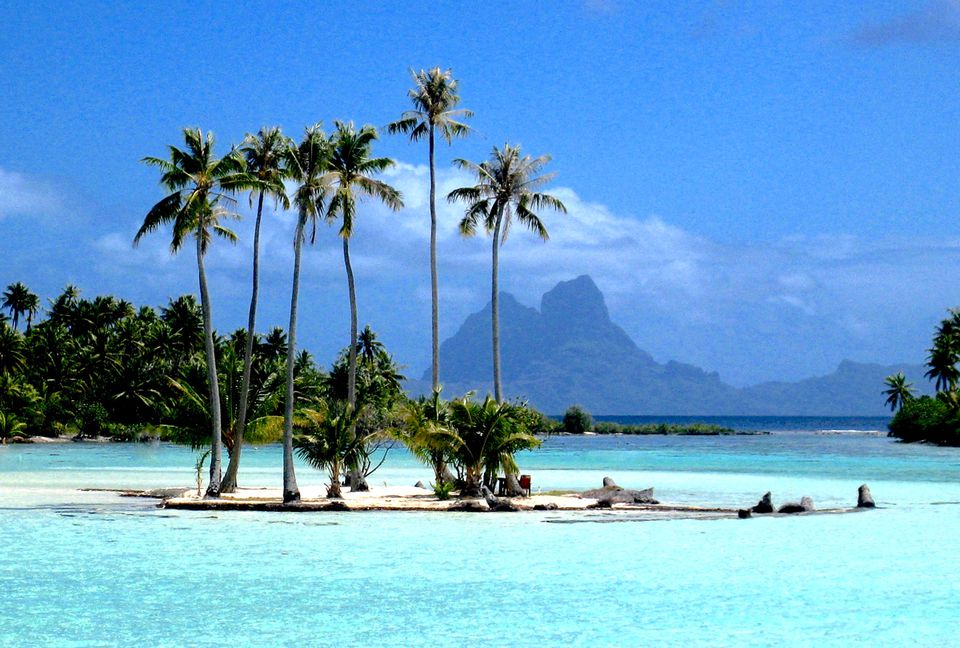 French Polynesia, also known as Tahiti, and as Paradise