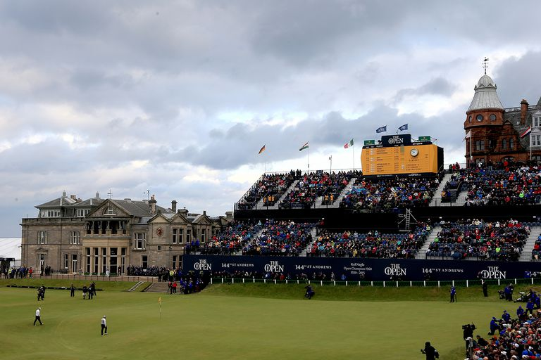 settings 144th Open Championship - Final Round