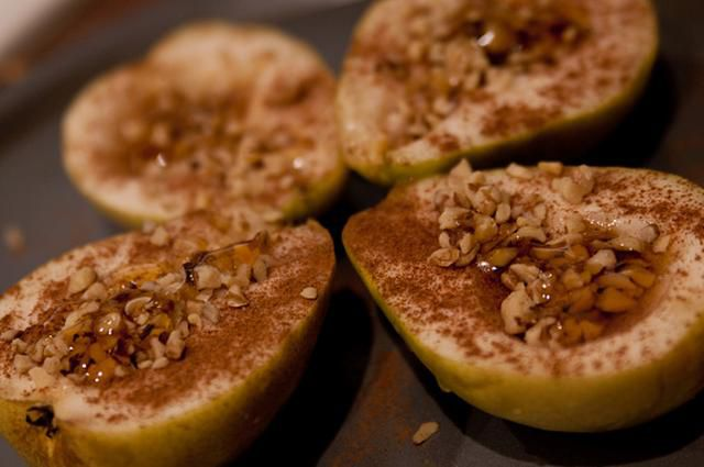 Grilled-baked apples in foil with cinnamon and sugar