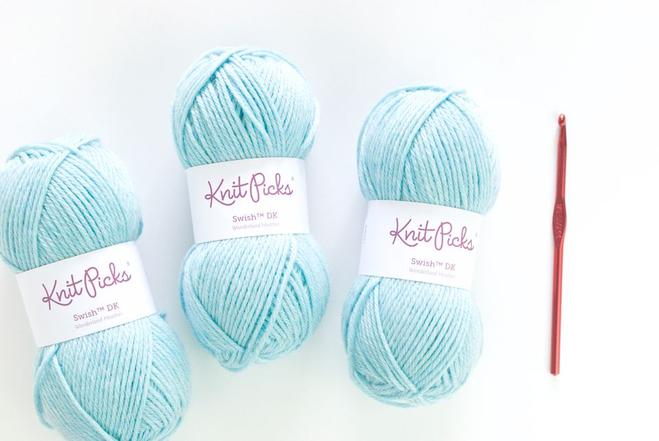 Crochet Infinity Scarf Supplies