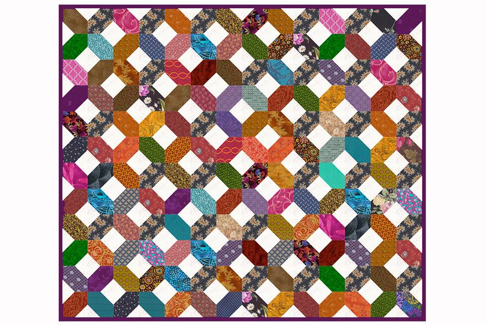 Hugs and Kisses Quilt Pattern