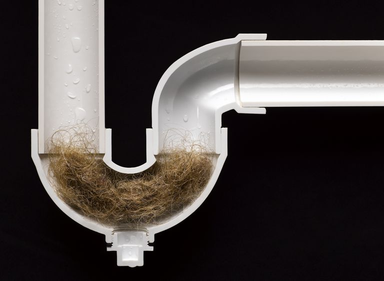 Unclog a drain by loosening the clog or by dissolving it.