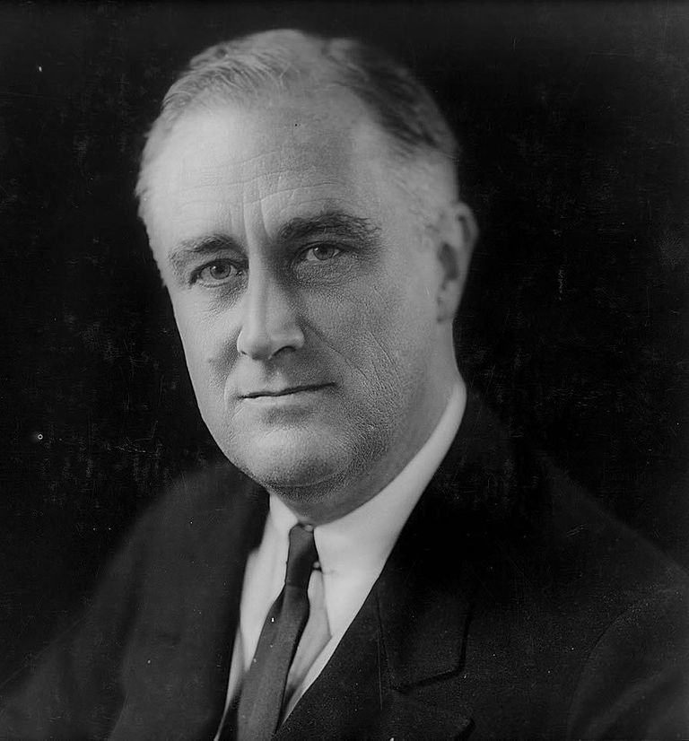 Franklin D Roosevelt, Thirty-Second President of the United States