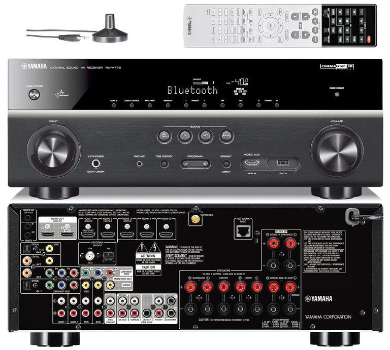 Yamaha intros four mid range home theater receivers for 2015 for Yamaha receiver firmware update 2017