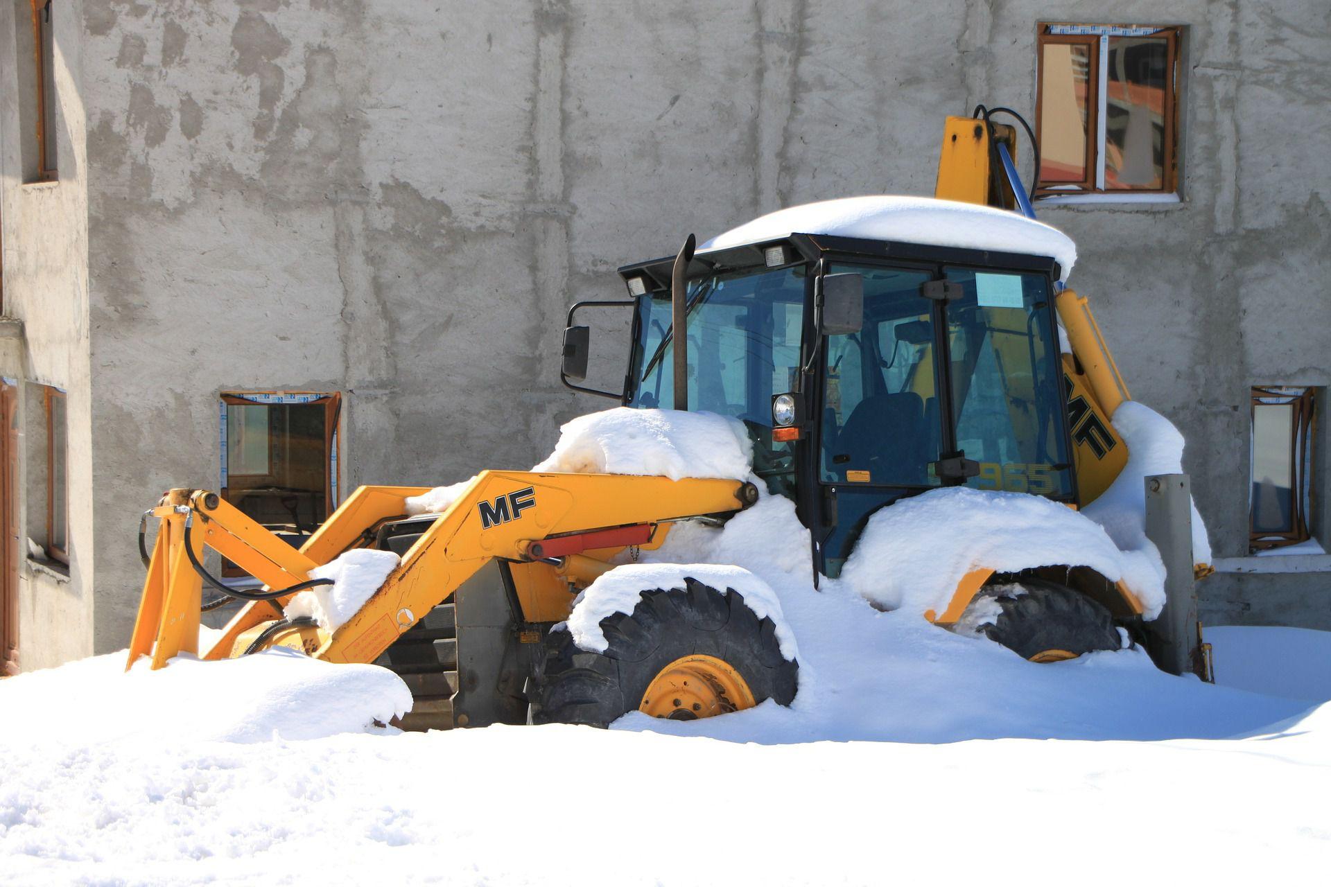 Tiny Home Designs: Construction Equipment Winter Care Maintenance Tips