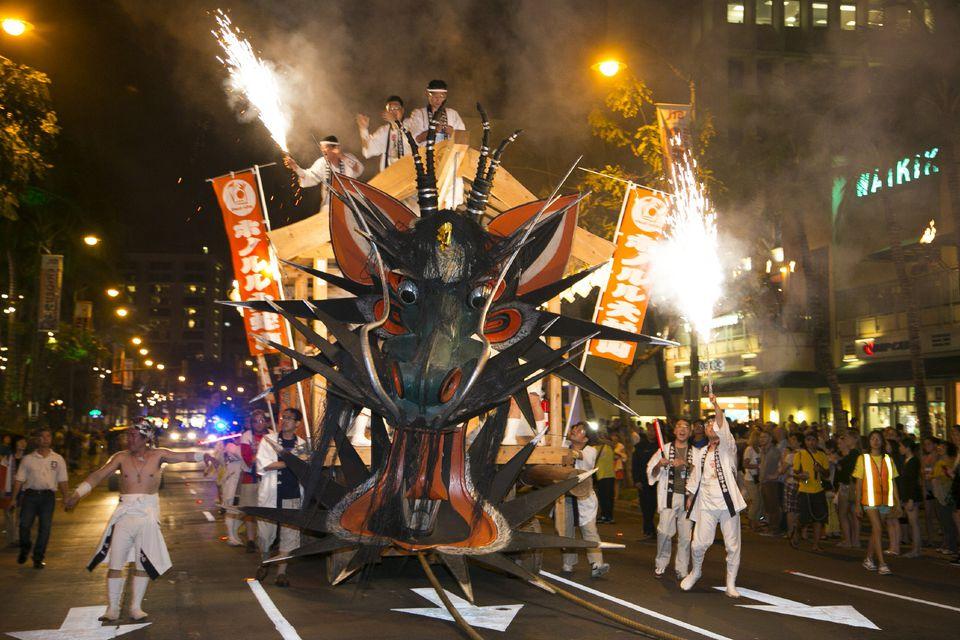 Honolulu Festivals Grand Parade