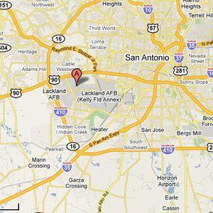 Air Force Joint Base San Antonio Lackland Texas