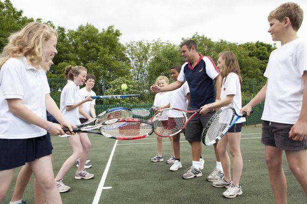 Tennis racquets might be on your sports camp packing list
