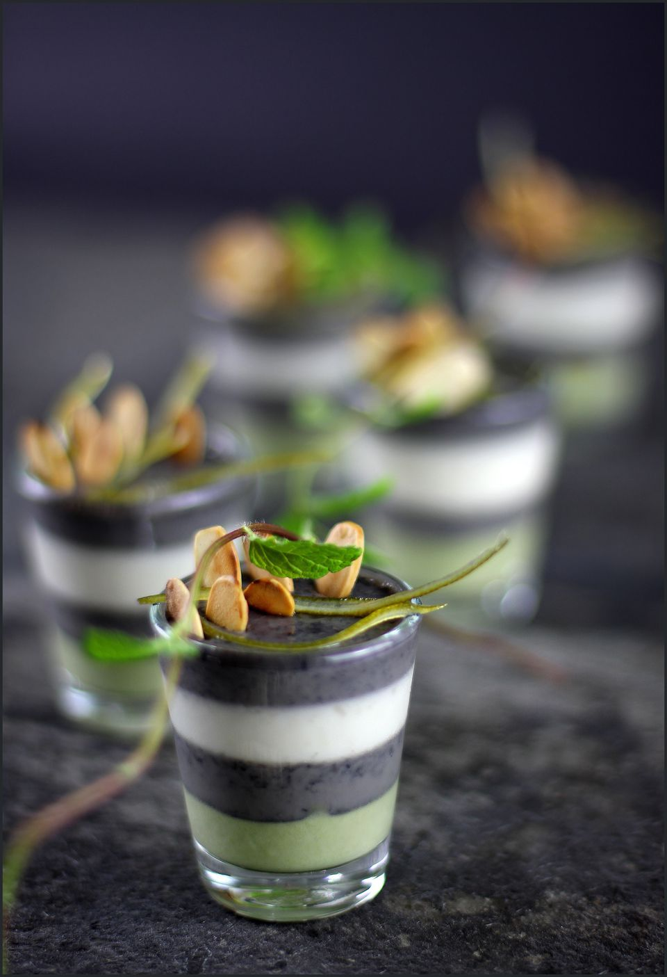 Black Sesame Pudding Asian Dessert Recipe