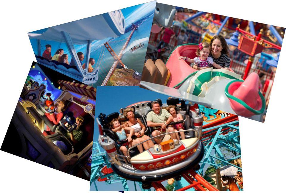 Disney World Rides