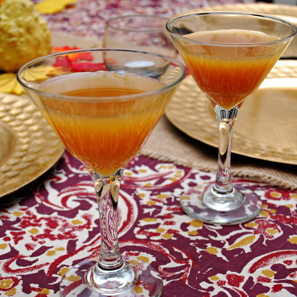 Thanksgiving Cider Vodka Cocktail Recipe