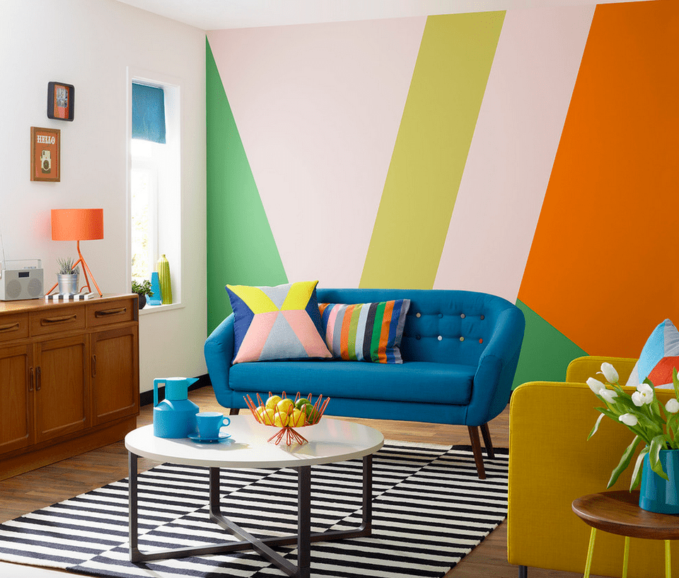 No Rooms Colorful Furniture: 21 Colorful Living Room Designs