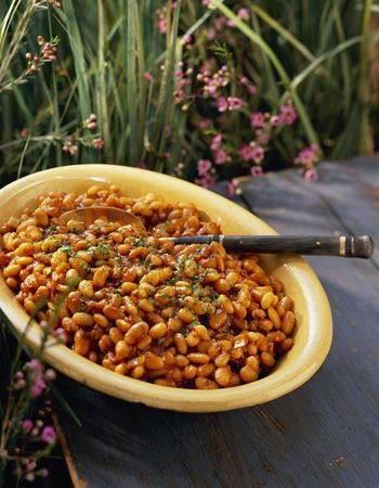 Slow Cooker Barbecue Beans