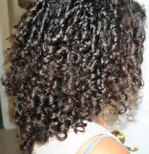 Keep your curls from falling or drooping.