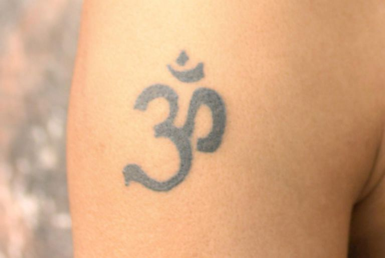 Om Aum Symbol Tattoo Meaning Explanation