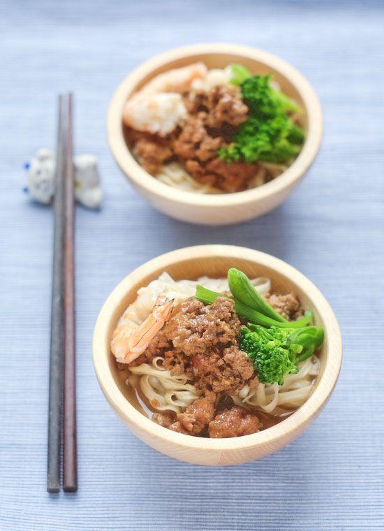 Taiwanese Tan Tsai Noodle