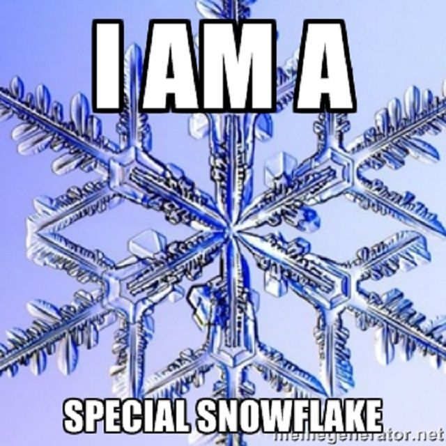 I Am A Special Snowflake