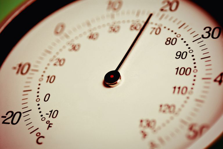 Celsius and Fahrenheit are two common temperature scales.