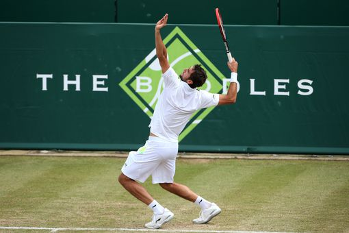 Photo of Marin Cilic's Serve - Loading Legs and Core