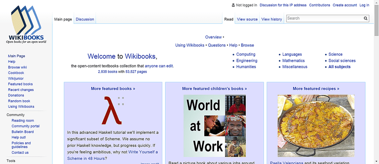 20 best sites to download free books subjects range from computing to languages to science you can see all that wikibooks has to offer in books by subject fandeluxe Gallery