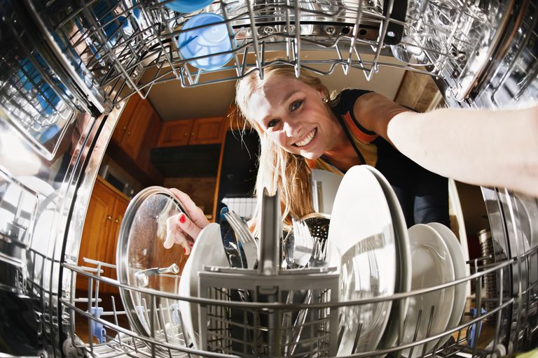 Using laundry detergent in your dishwasher probably voids its warranty.