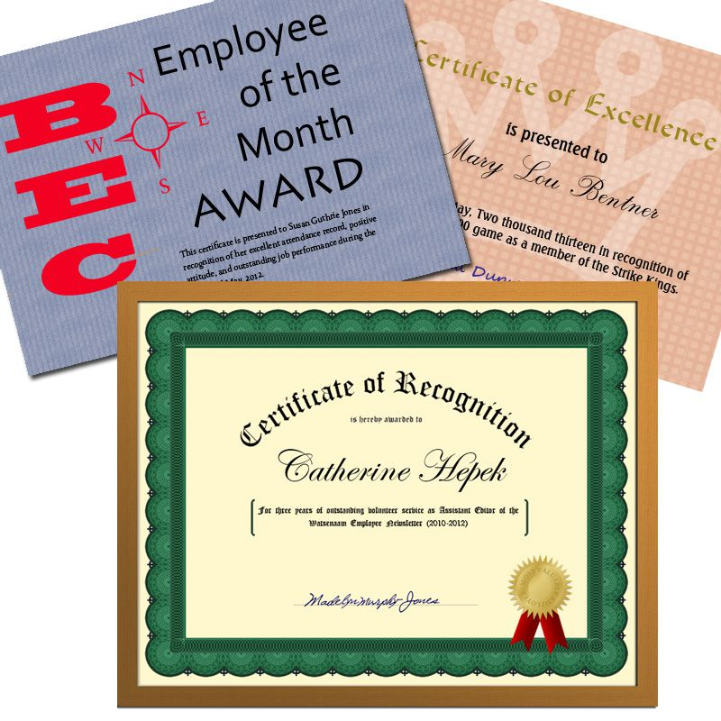 The Right and Wrong Way to Phrase Certificates