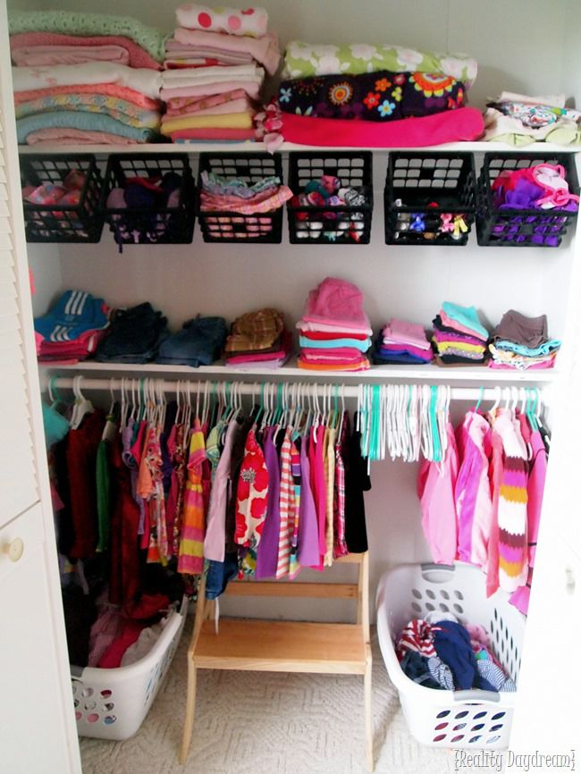 17 Ways To Organize Baby Clothes