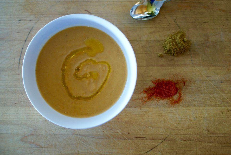 Smoked Paprika Lentil Soup