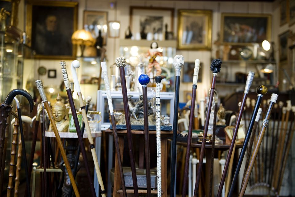 Flea markets can be great sources for original gifts in Paris.