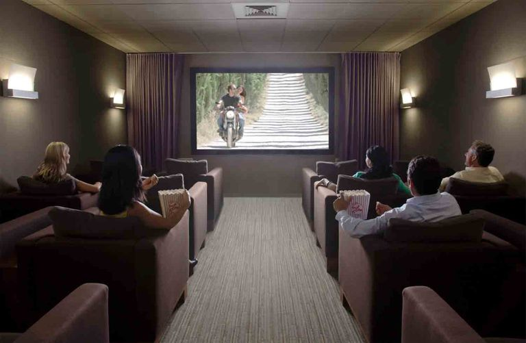 The Home Theater Movie Watching Experience