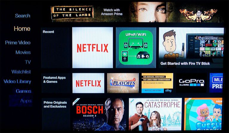 The Amazon Fire TV Stick