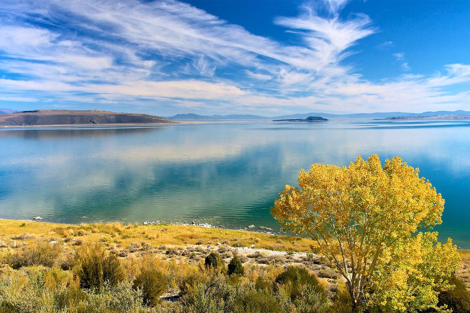 Mono Lake in the Fall