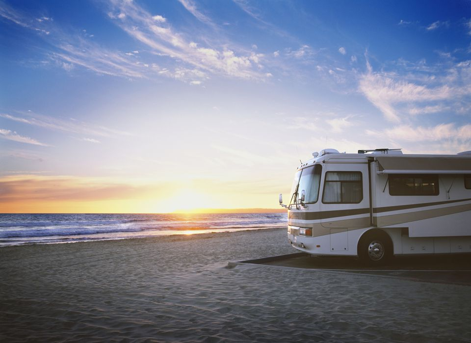 Trailer Home on Beach