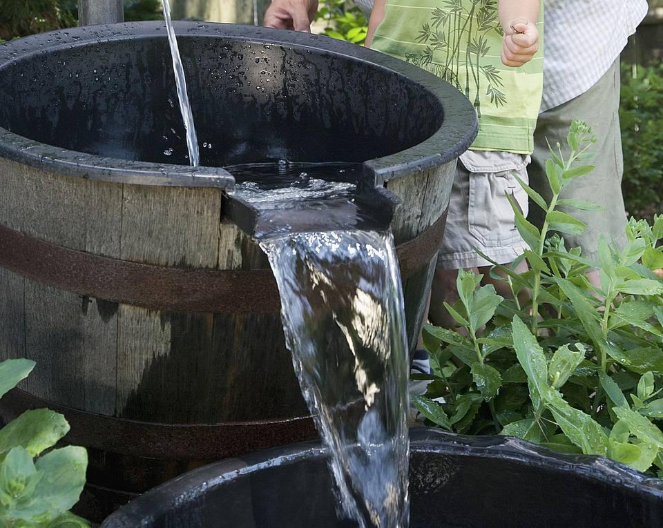 feng shui of water in the garden