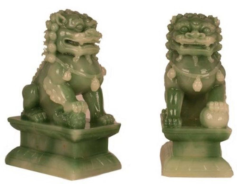 Feng Shui Classical Protection Symbol Fu Dogs
