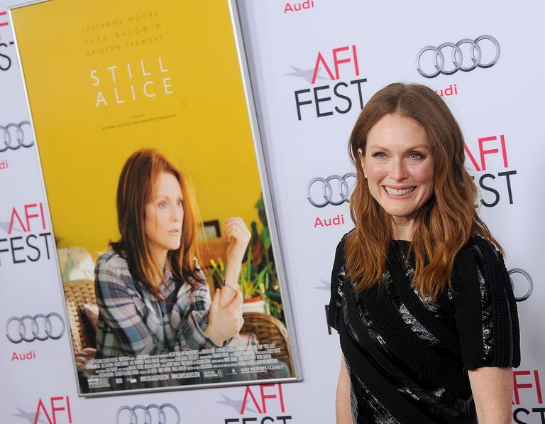 """Julianne Moore Portrayed a Woman with Early Onset Alzheimer's in the Movie """"Still Alice"""""""