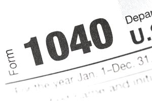 What to do with a 1099 tax form.