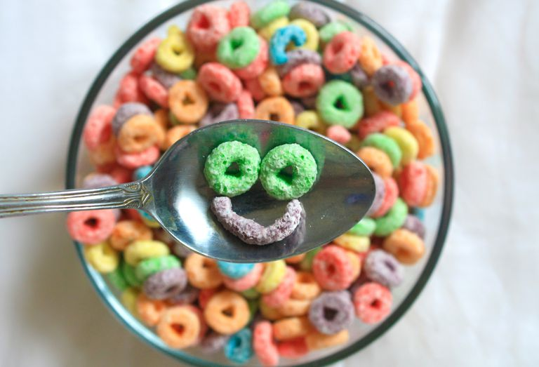 cereal smiling simile