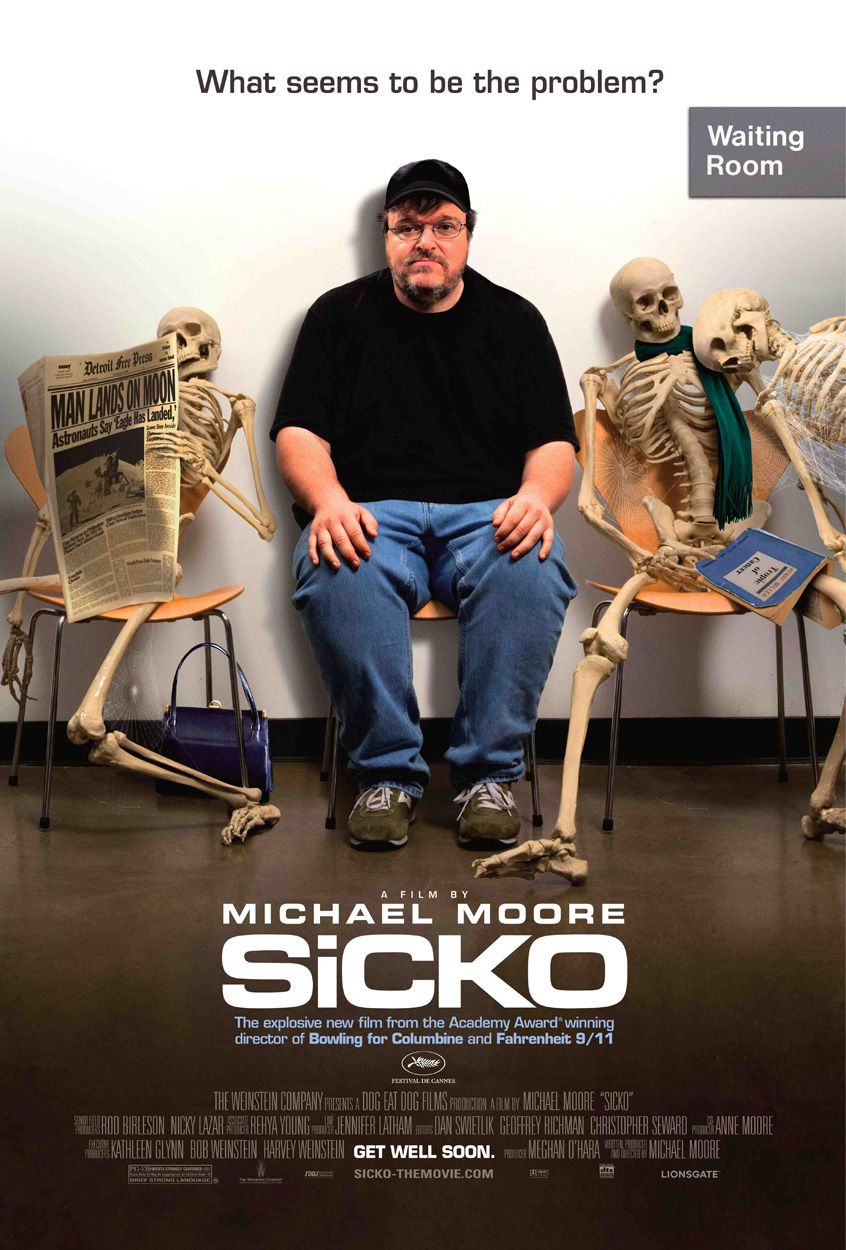 movie review sicko by michael moore
