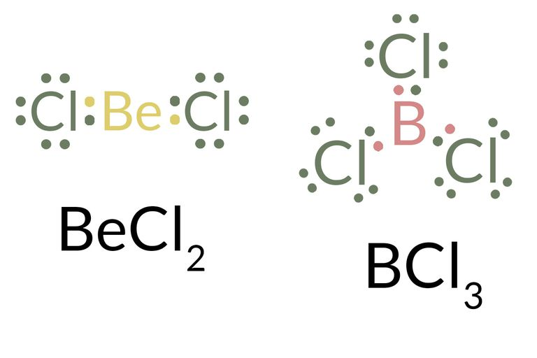 Exceptions to the octet rule lewis dot structure ccuart Image collections