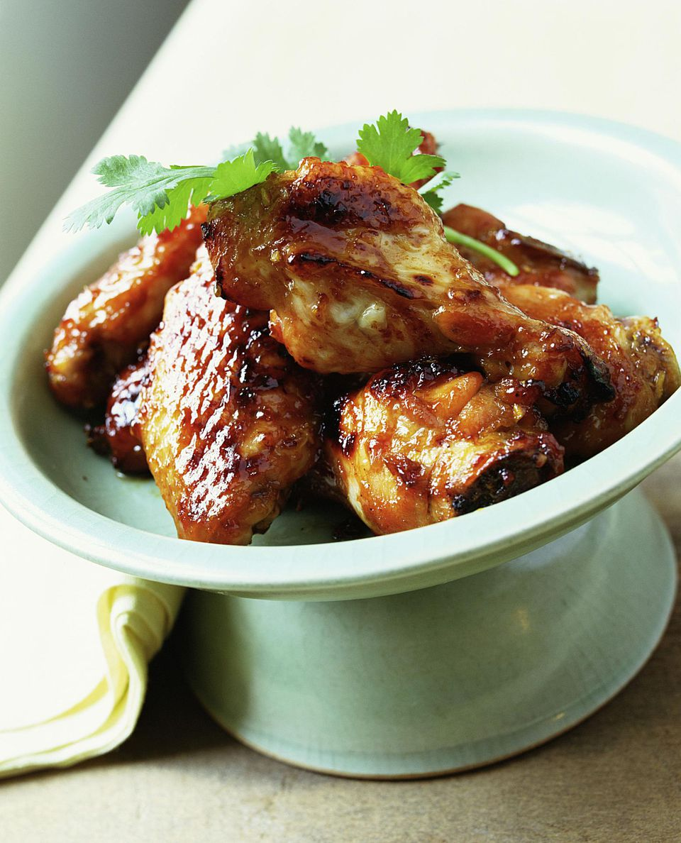 Sweet Soy Chicken Wings