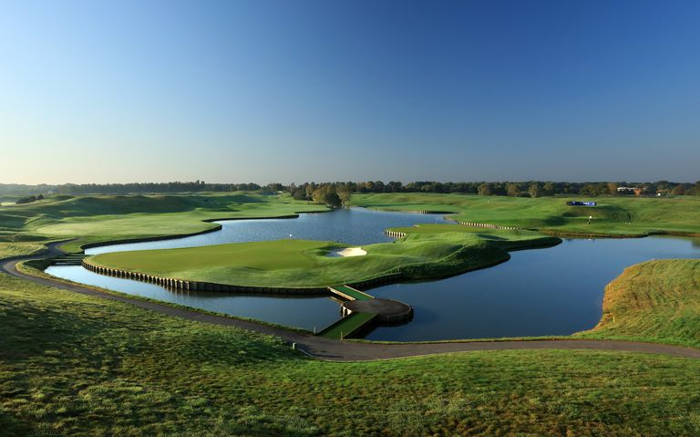 Le Golf National course in Paris, France