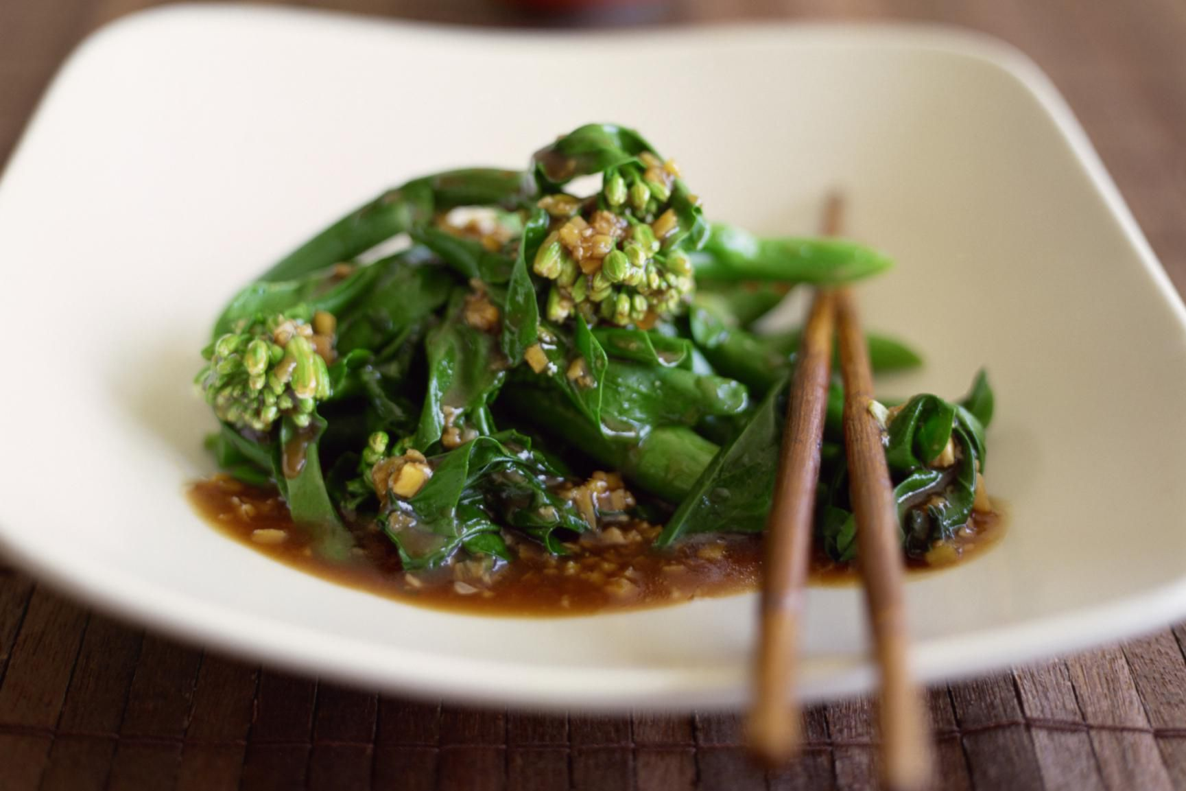 Chinese Broccoli With Oyster Sauce Recipe-6578