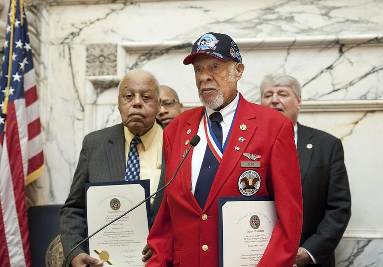 Tuskegee Airmen honored in Maryland