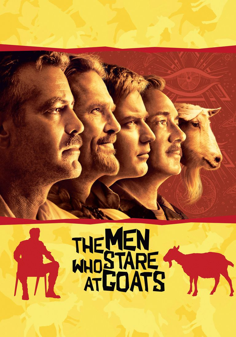 Movie poster for The Men Who Stare at Goats