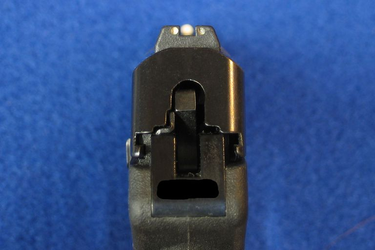Photo of a Pistol Being Aimed
