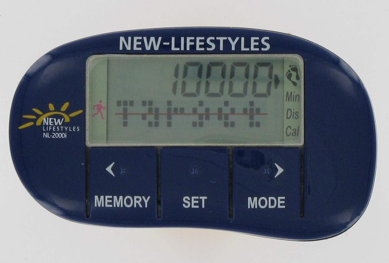 NEW LIFESTYLES NL-2000i 3-D Piezoelectric Pedometer