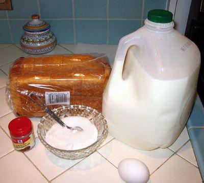 Making Torrijas - Gather the Ingredients