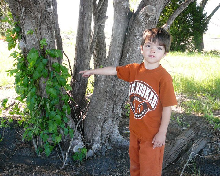 You can help kids avoid poison ivy by showing them where it is and what it looks like...