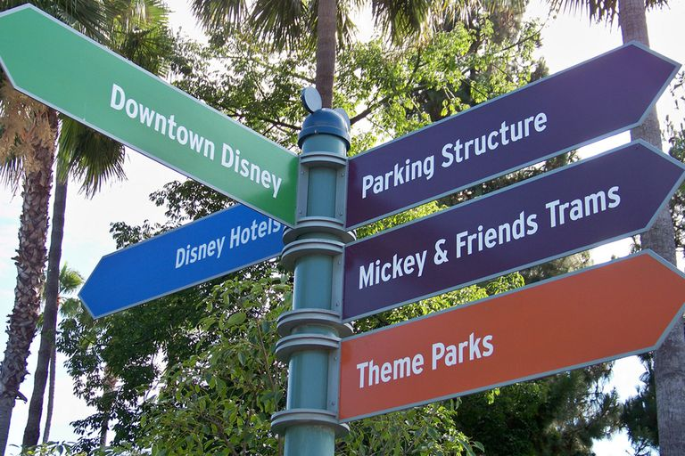 Disneyland Directions